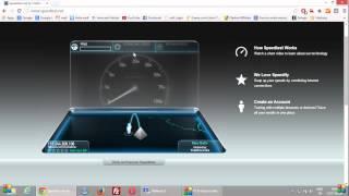 Reliance 3 CDMA dongle Speedtest