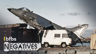 Why a Harrier Jump Jet Parked on a Cargo Ship | NEGATIVES