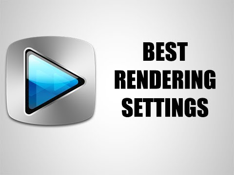 Best Render Settings For Sony Vegas Pro   Best For YouTube (2015)