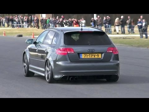 During the Spring Event I have recorded this grey Audi RS3 Sportback fitted with aftermarket Milltek Non Resonated Exhaust System and is tuned by JD Engineer...