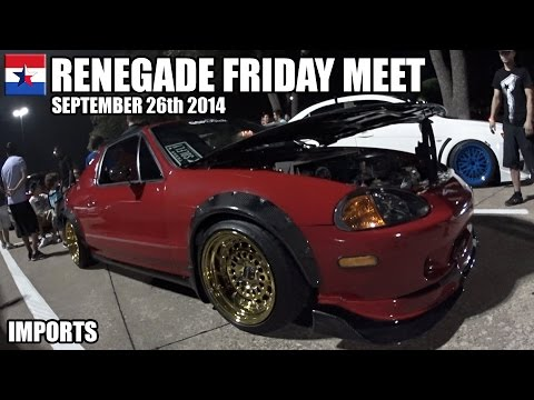 Renegade Friday Meet // September 26th 2014