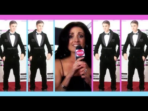 Hasselhoff Has Bieber Fever! - AMA 2012 Red Carpet Part 2