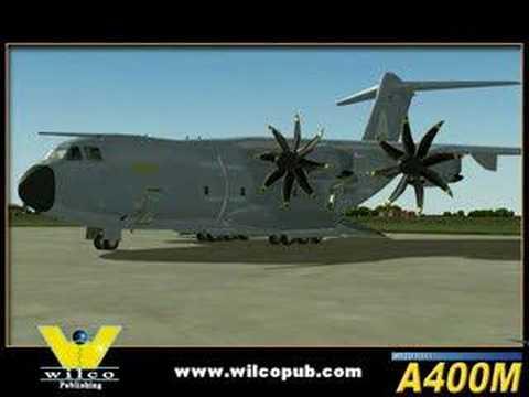 FSX Wilco Fleet A400M
