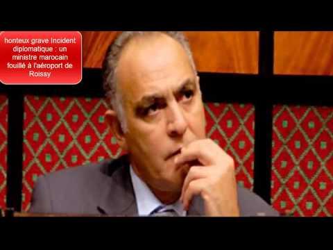 patron des services secrets marocains Abdellatif Hammouchi fouillé à l'aéroport de Roissy