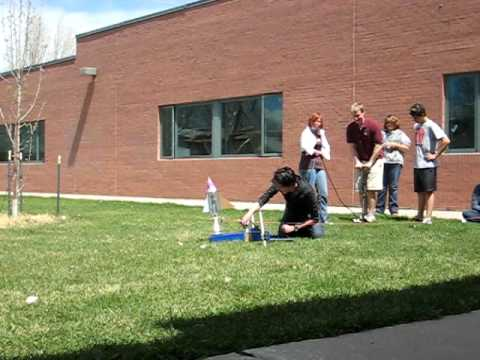 Angevine Middle School: Plastic Water Bottle Rockets: Rocket 1