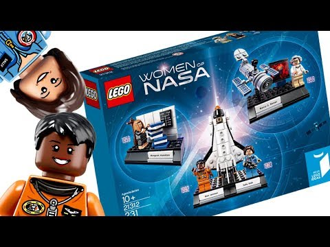 Problems with the LEGO Women of NASA set...