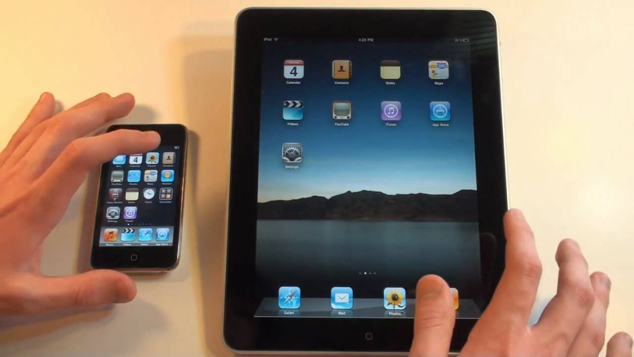 Speed Test: iPad vs. iPod Touch 3g