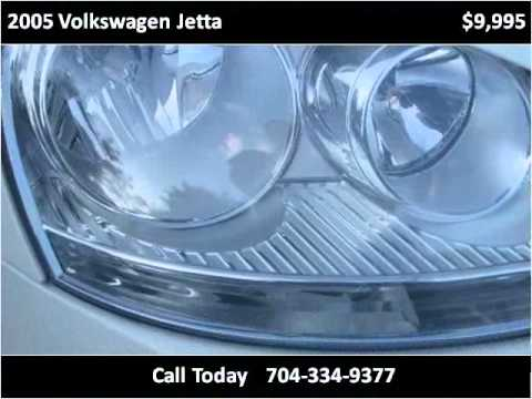 2005 Volkswagen Jetta Used Cars Charlotte NC