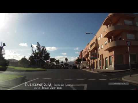 #0345 Fuerteventura -  Puerto del Rosario - Street View 2016
