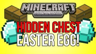 Minecraft (Xbox 360) - HIDDEN CHEST EASTER EGG! - Tutorial World!