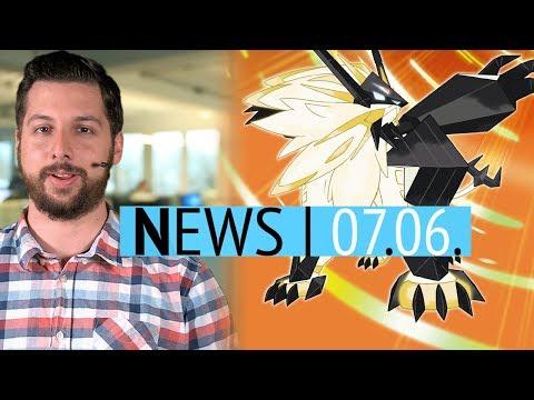 Neue Pokémon-Spiele UltraSonne & UltraMond angekündigt - Battleborn wird Free2Play - News