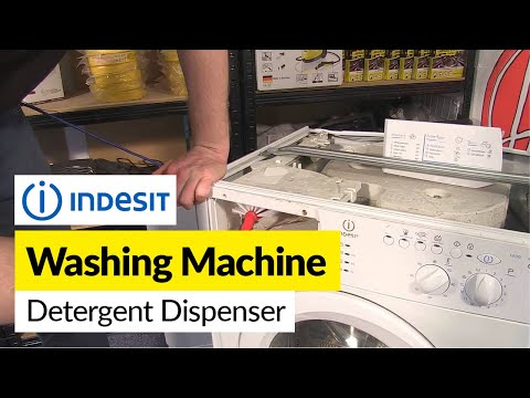 How To Replace The Soap Dispenser Housing On An Lg Washing