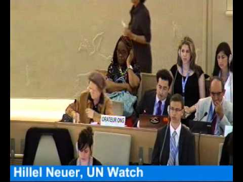 U.N. Day of Hate vs. Israel: Hillel Neuer Takes the Floor