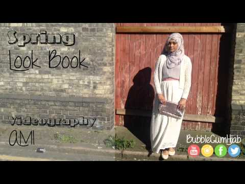 Haute Arabia Tutorials  BubbleGumHijab Signature Hijab Tutorial│Spring Lookbook