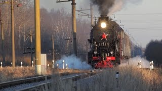 [RZD] LV-0522 steam locomotive, Preduzlovaya-Pavlovskaya - Rogavka stretch