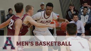 NCAA Division III Men's Basketball - Alma College vs. Trine University