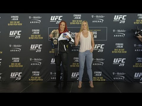 UFC 219: Media Day Faceoffs