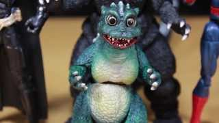 Godzilla S.H. MonsterArts Little Godzilla Tamashii Nations Figure Quickie Review