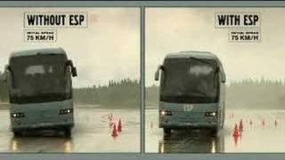 Volvo Otobüs ESP testi