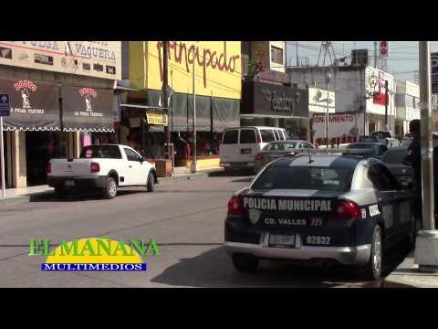 Alto índice de violencia: En Ciudad Valles