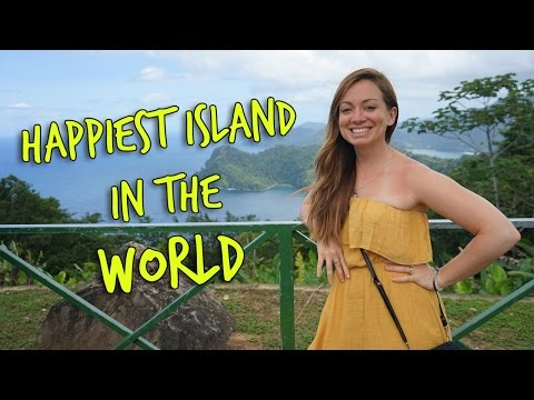 HAPPIEST ISLAND IN THE WORLD: Trinidad