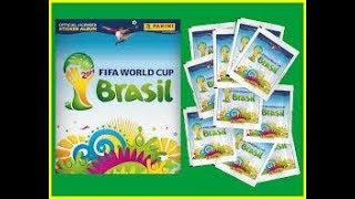 [HD] Complete 100% Panini FIFA WorldCup Brasil 2014 Sticker album !!!!!!