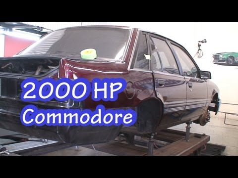 2000 HP Commodore VL at NRE.  New 441(7.2L) SBC Beast!  NRE TV episode 191.  Nelson Racing Engines.