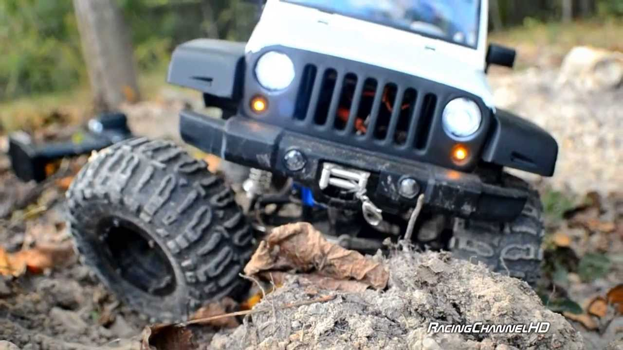 Axial Offroad White 4 Door Jeep Jk 1 8 Scale Hard Body