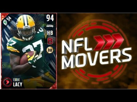 NFL Movers Eddie Lacy   Player Review   Madden 17 Ultimate Team Gameplay