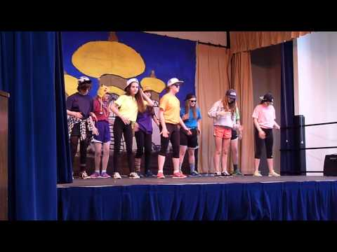 May 2014 talent show -- St John Fisher School, Portland, Oregon