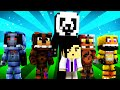 FNAF World - NIGHTGUARD SURVIVES? (Minecraft Roleplay) Night ...