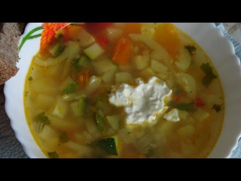 ВКУСНО И ПРОСТО! Суп рисовый с овощами