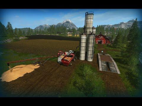 Farming Simulator 17   Goldcrest Valley (PC)   Track IR:  Harvesting Corn