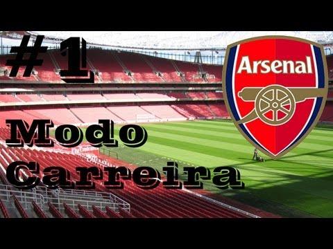 FIFA 14 - MODO CARREIRA - Nova Temporada com Arsenal #1