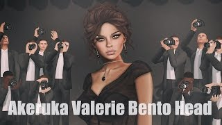 Akeruka Valerie Bento Mesh Head in Second Life