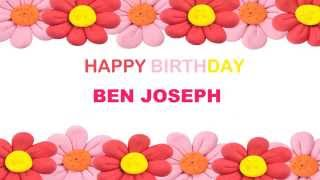 Ben Joseph   Birthday Postcards & Postales - Happy Birthday