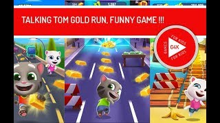 TALKING TOM GOLD RUN, FUNNY GAME FOR KIDS