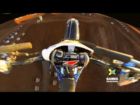 GoPro - Taka Higashino Moto X Freestyle Gold Run Summer X Games 2013 Brazil Motocross FULL HD