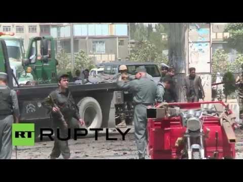 Afghanistan: US convoy suicide bomb strike kills 4 civilians