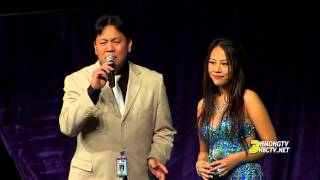 3HMONGTV: Michelle Vang sings with Mistik Band at Hmong Minnesota New Year 2016.