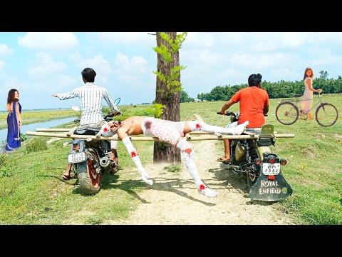 Play this video New Funny Comedy Video 2021 Fully entertainment Video  Bindas Fun Masti
