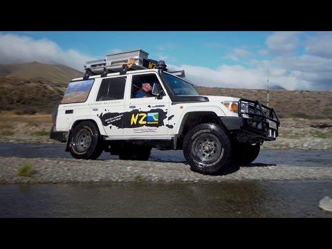 NZ Adventures - 4 wheel drive Touring Company South Island, New Zealand