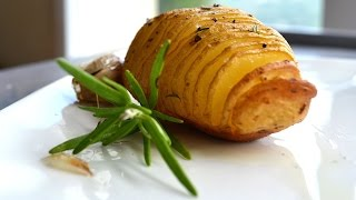 "Video ricetta: ""Patata arrosto"" (tipo Hasselback) - Aglio in Camicia"
