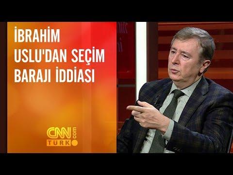İbrahim Uslu'dan seçim barajı iddiası