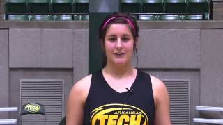 Danielle Frachiseur - Female Student-Athlete of the Week (1/7)