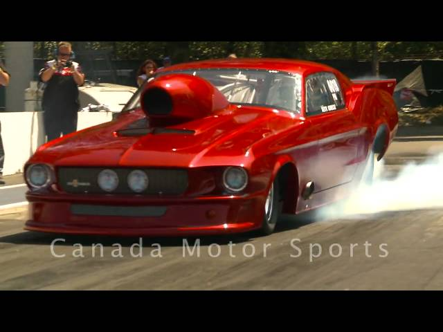 NHRA Drag Racing Pro Mods & Doorslammers - Mission, BC - June 27/09 part 1 of 4