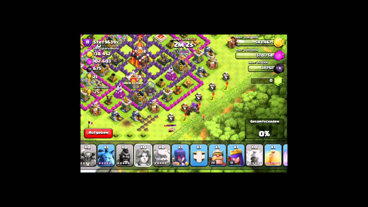 how to bring down walls in clash of clans