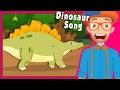 Lagu Blippi Dinosaur Song and More  Educational Videos for Preschoolers