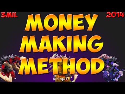 Runescape 3 Money Making Method 3Mil Per Hour – Muspahs 2014