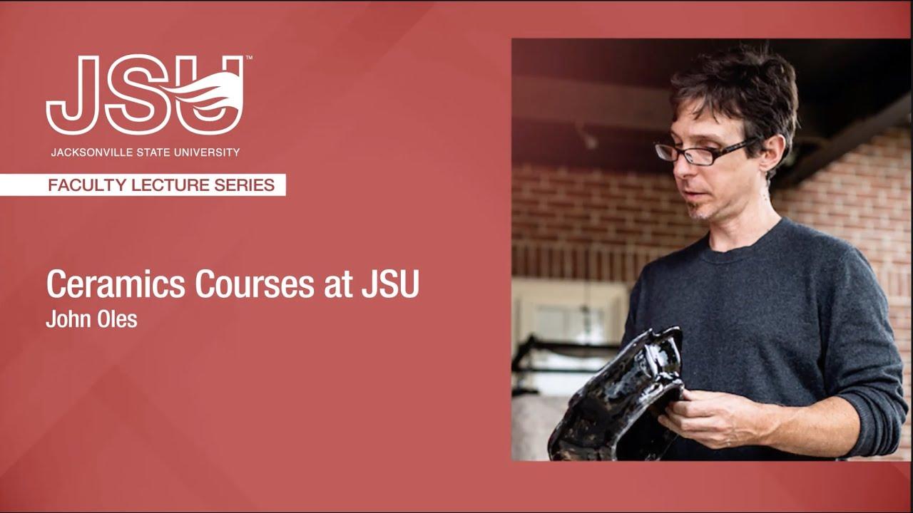 JSU的陶瓷课程